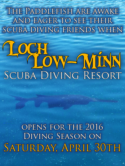 Loch Low-Minn opens on April 30th!