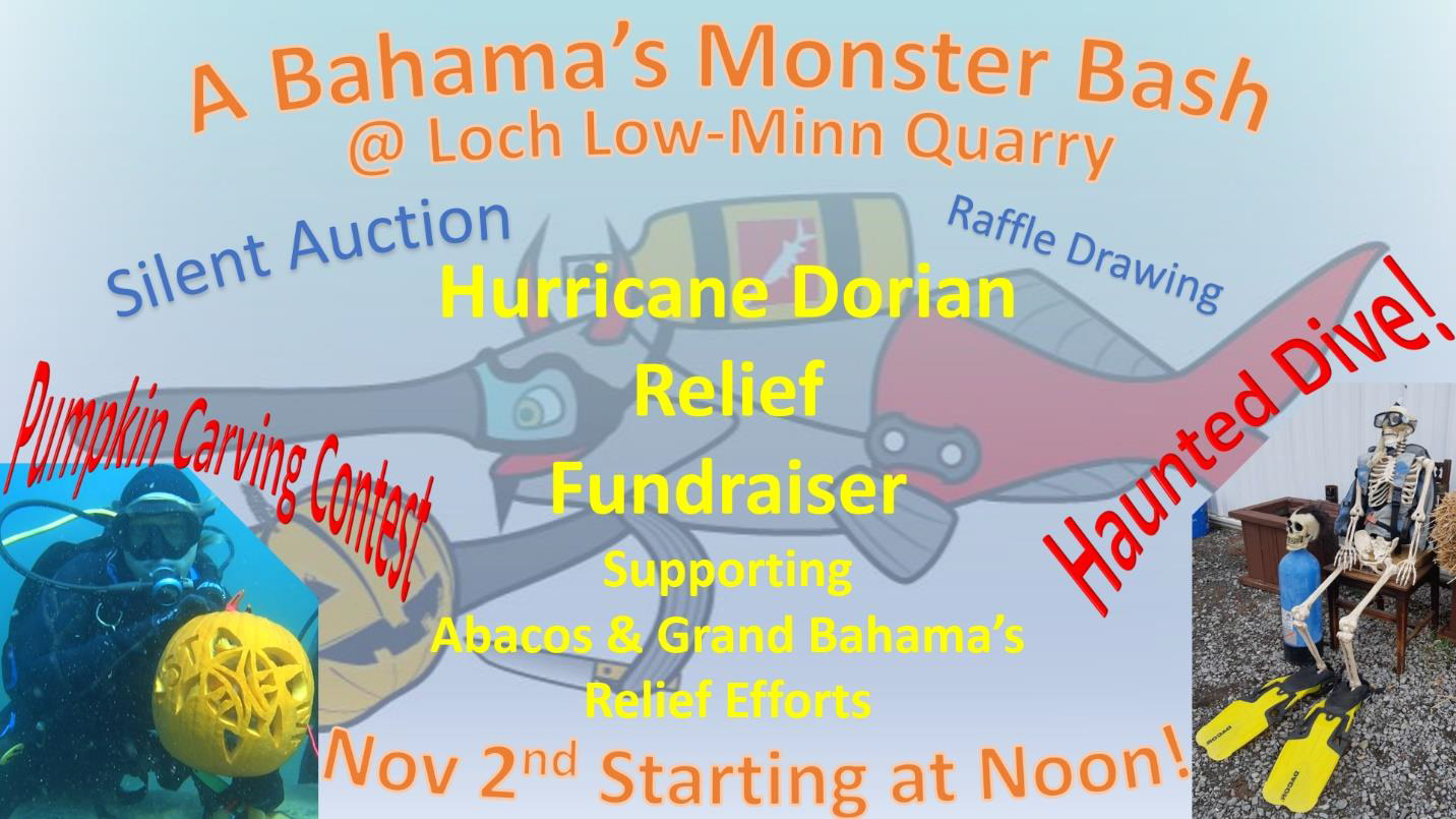 Help raise funds for Hurricane Dorian Relief on Nov. 2nd starting at Noon!